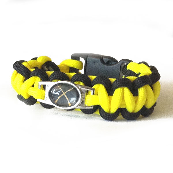 paracord-black-yellow
