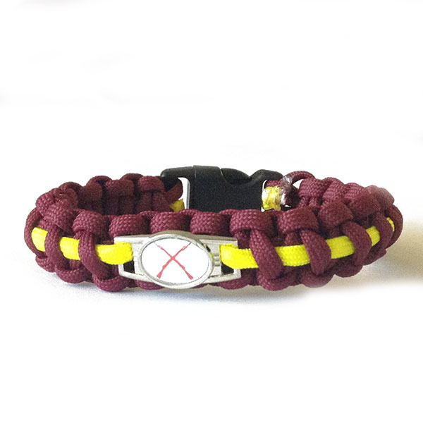 paracord-maroon-yellow-red