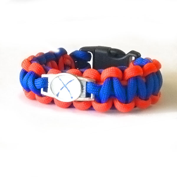 paracord-orange-blue